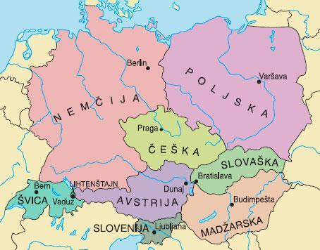 Srednja Evropa Proprofs Quiz