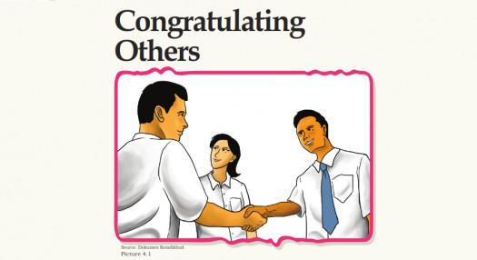 Soal Latihan Chapter 4 Congratulating Other/Ucapan Selamat Kelas X