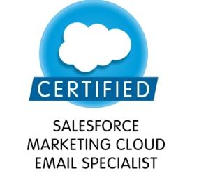 Certified Marketing Cloud Email Specialist - Part 1