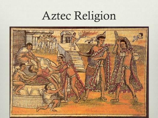 8th Grade Aztec Religion And Sacrifice