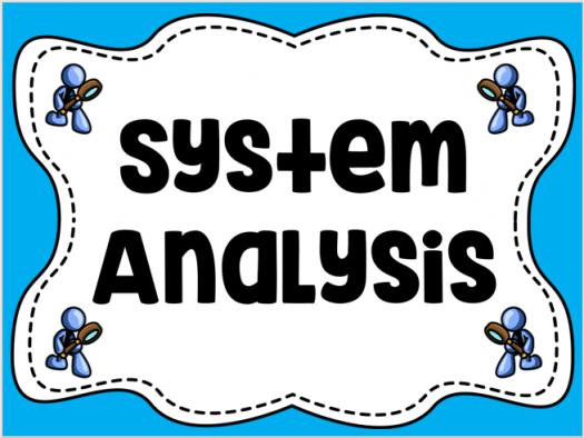 System Analysis - (1)