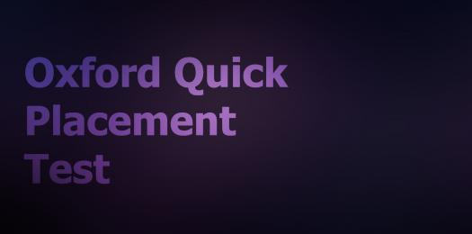 Oxford Quick Placement Test
