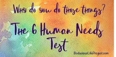 What Is Your Most Important Human Need?