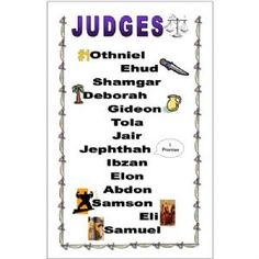 Whats Up With Book Of Judges ? Fun Quiz