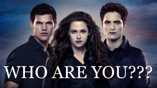 """Which Twilight Character Are You? """"Have Fun With This Quiz"""""""