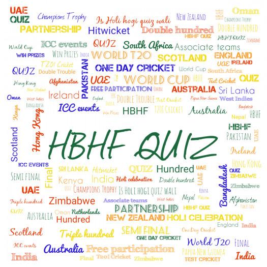 Hbhf Quiz Round 1