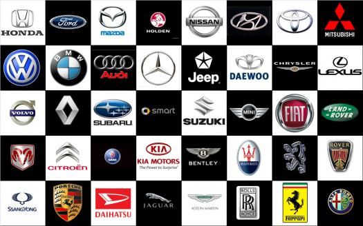 How Many Automobile Logos Do You Know?
