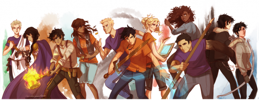 What do you know about Heroes of Olympus?