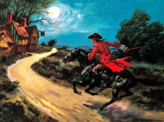 what is the highwayman poem about
