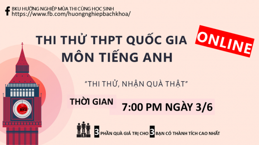 Thi Th Online M�n Ting Anh