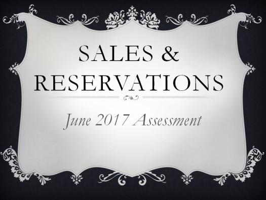 Sales June 2017 Quiz