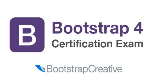 Bootstrap 4 Quick Start: Certification Exam