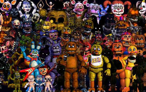 Which FNAF Character Are You..?