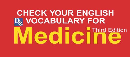 Check Your English Vocabulary For Medicine 2 - Word Formation - Noun