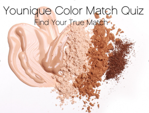 Younique Color Match Quiz Find Your Shade Of Touch Mineral