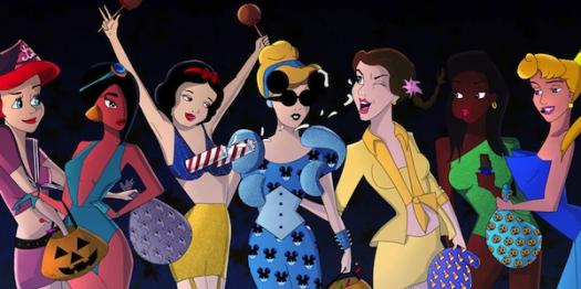 Which Disney Female Character Are You?