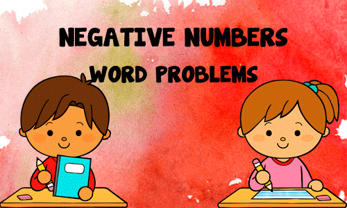 Integers Word Problems