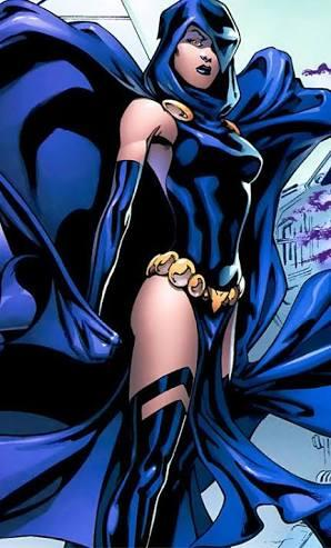 Raven Comic Book Character
