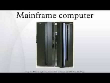 Do You Know Mainframe Computers?