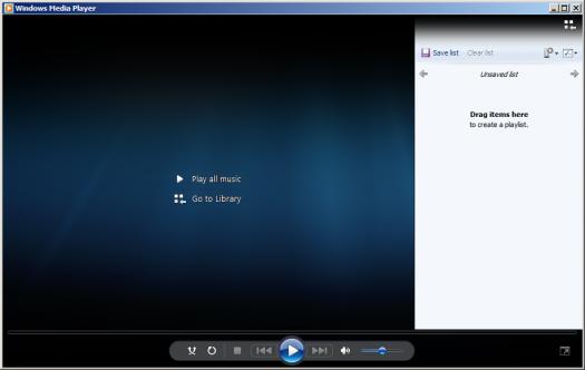 Windows Media Player Test