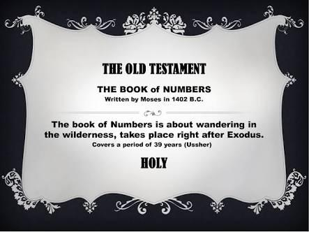 Do You Know The Book Of Numbers?