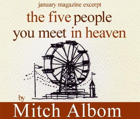 the five people you meet in heaven Quizzes & Trivia