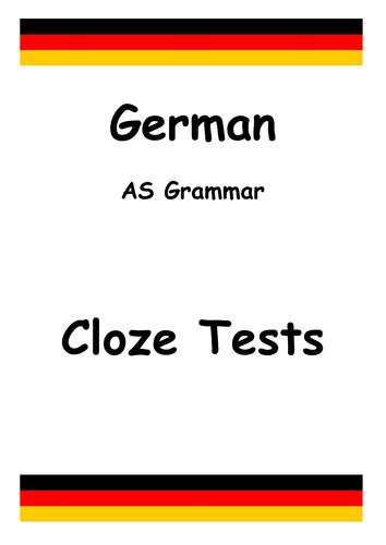 German Language Grammar Test