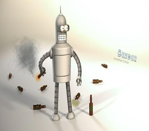 Do You Know Bender Character?