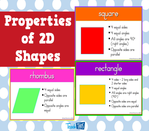 What Do You Know About Properties Of Shape?