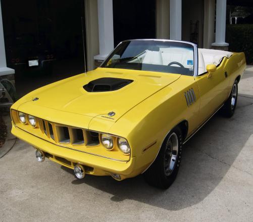 Do You Know Plymouth Hemi Cuda Convertible?
