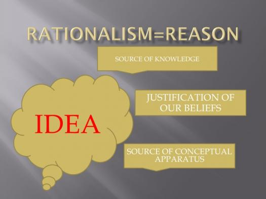 What Do You Know About Rationalism?