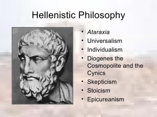 What Do You Know About Hellenistic Philosophy?