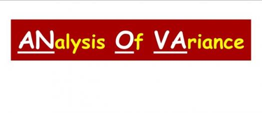 The Analysis Of Variance (anova) Test