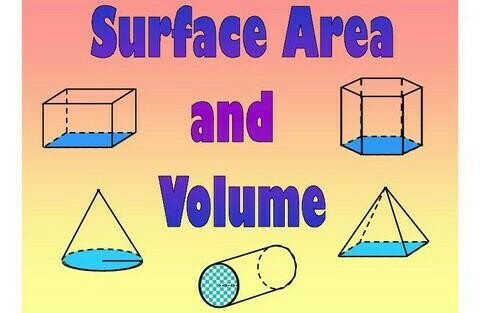 volume and surface area The surface area of a polyhedron is equal to the sum of the area of all of its faces said another way, the surface area is the total area covered by the net of a polyhedron let's take a look at a cube.