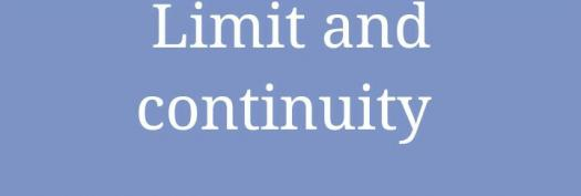 Math Quiz: Take The Limits And Continuity Assessment Test