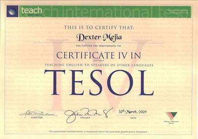 What Do You Know About Certificate Iv In TESOL?