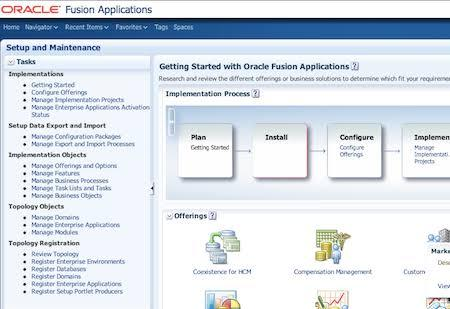 Intelligent Oracle Fusion Applications Assessment Test