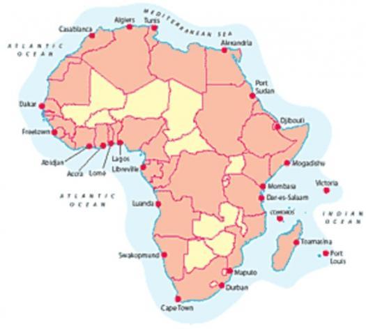 Do You Know Coastal Africa?