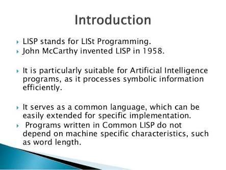 Common Lisp Basic Programming Test