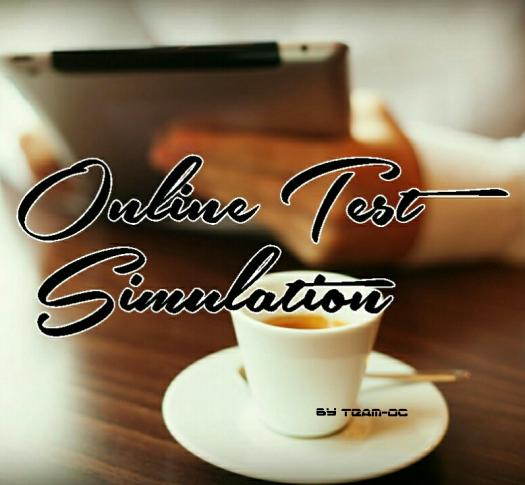 Online Test Simulation
