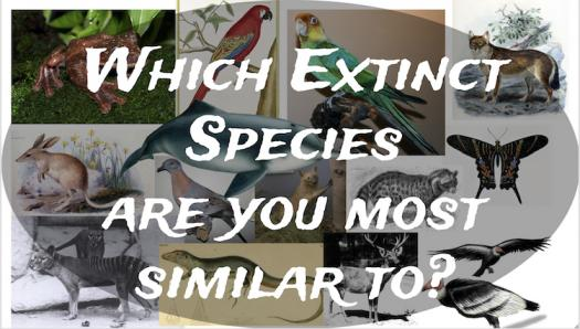 Which Extinct Species Are You Most Similar To?