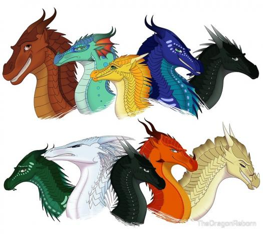 Which Wings Of Fire Character Are You? (second Pentology)
