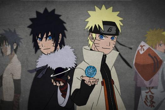 Como seria o Naruto sem a Kurama mas com seus pais vivos? 1519690515