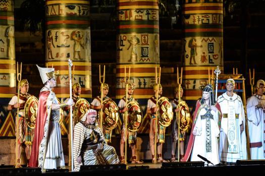 Aida Opera by Giuseppe Verdi Test