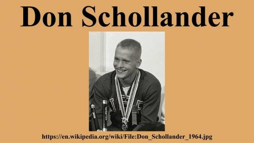 How Well Do You Know Don Schollander