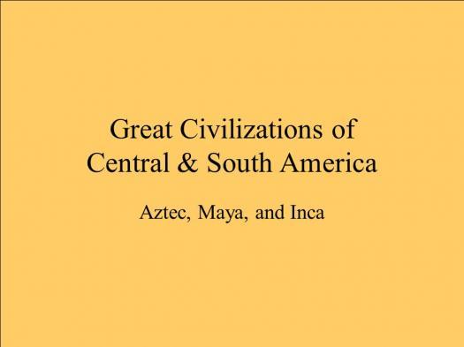 8th Grade Aztec Quiz
