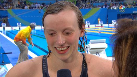Do you know Katie Ladecky?