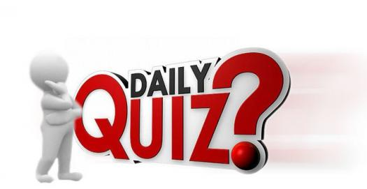 Daily Quiz 9 July