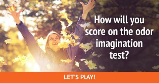 How Will You Score On The Odor Imagination Test?