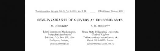 Do You Know About Semi-invariant Of A Quiver?